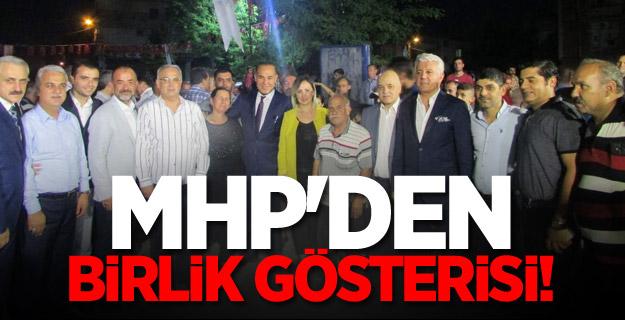 MHP'den birlik gösterisi!