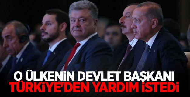 O Ülkenin Devlet Başkanı Türkiye'den yardım istedi