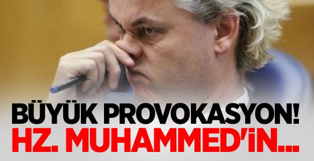 Büyük provokasyon! Hz. Muhammed'in...