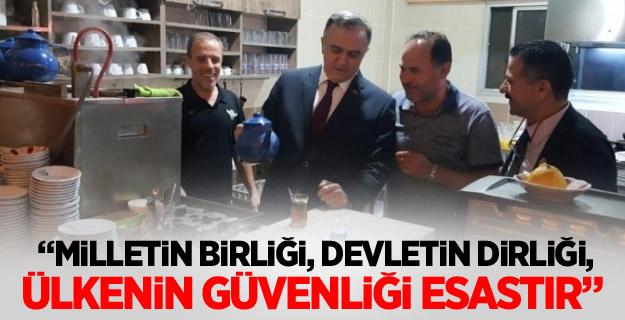 """MHP'li Akçay: """"Milletin Birliği, Devletin Dirliği, Ülkenin Güvenliği Esastır"""""""