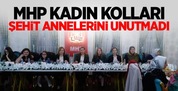 MHP Kadın Kolları Şehit Annelerini Unutmadı