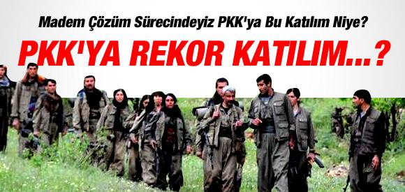 SÜREÇTE PKK'YA HER YIL 2 BİN KİŞİ KATILDI