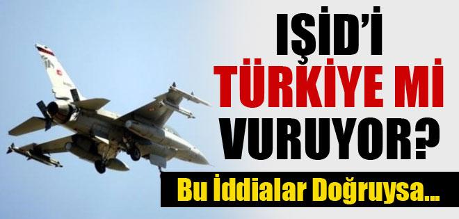 IŞİD TÜRKİYE'Yİ VURUYOR İDDASI !