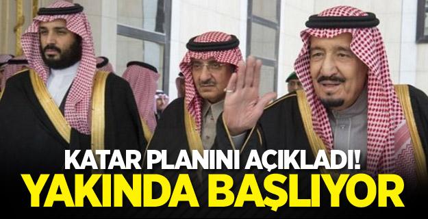 Katar planını açıkladı! Yakında başlıyor