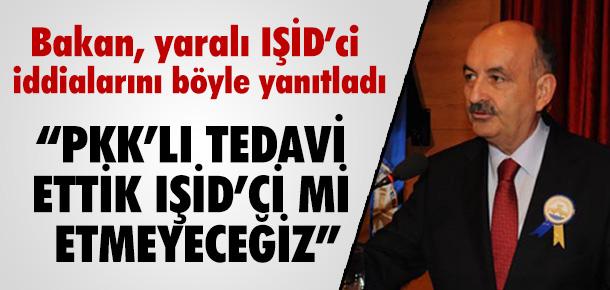 AKP'Lİ SAĞLIK BAKANINDAN İTİRAF PKK'LILARI DA TEDAVİ ETTİK !