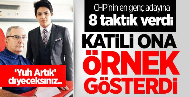Baykal CHP'nin en genç adayına 8 taktik verdi