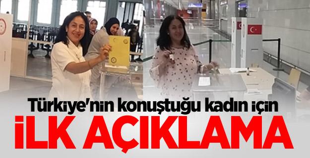Türkiye'nin konuştuğu kadın için ilk açıklama
