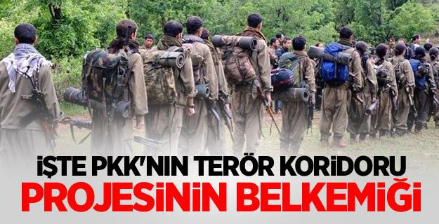 İşte PKK'nın terör koridoru projesinin belkemiği