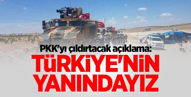 PKK'yı çıldırtacak açıklama: Türkiye'nin yanındayız