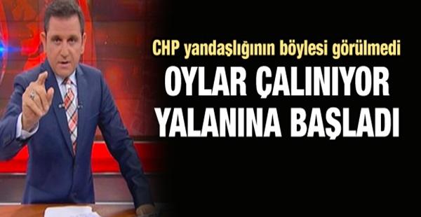 Fatih Portakal'dan oylar çalınıyor yalanı