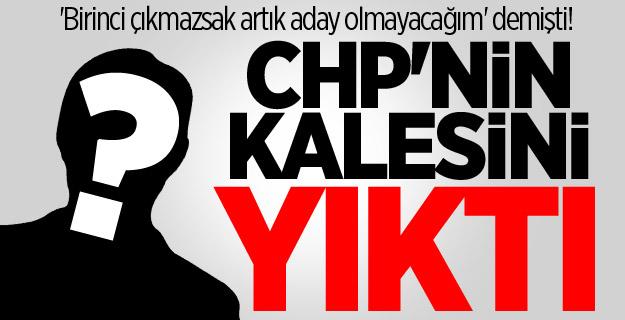 'Birinci çıkmazsak artık aday olmayacağım' demişti! AK Parti CHP'nin kalesini yıktı