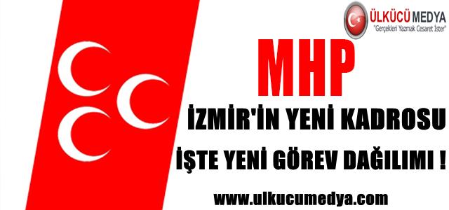 MHP İZMİR'İN YENİ KADROSU  İŞTE YENİ GÖREV DAĞILIMI !