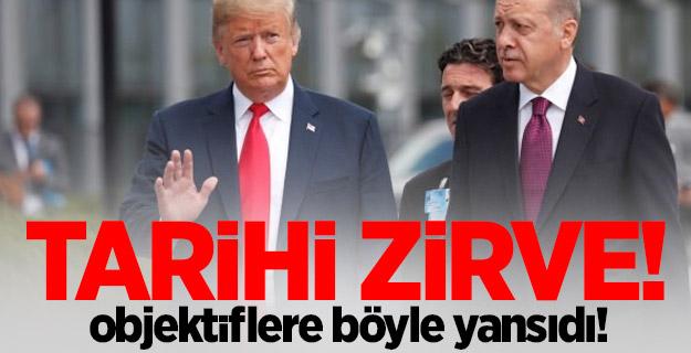 Cumhurbaşkanı Erdoğan NATO'nun yeni karargahında!
