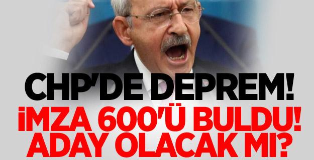 CHP'de deprem! İmza 600'ü buldu! Kılıçdaroğlu aday olacak mı?