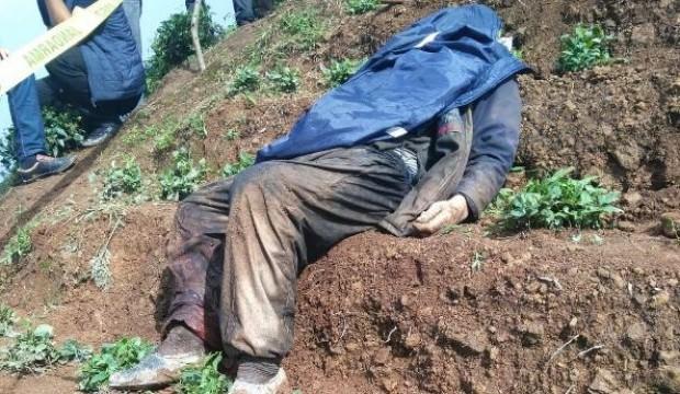 Görenler şok oldu! Bahçede ölü bulundu