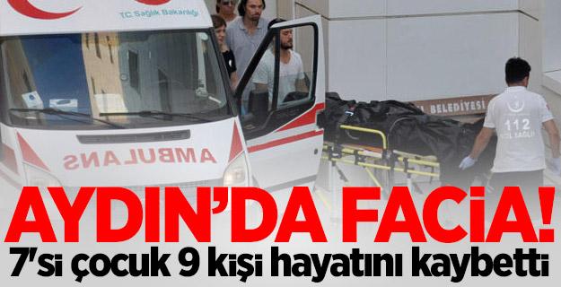 Kuşadası'nda facia: 9 kişi öldü