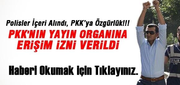 PKK'NIN YAYIN ORGANI ANF'YE ERİŞİM İZNİ VERİLDİ