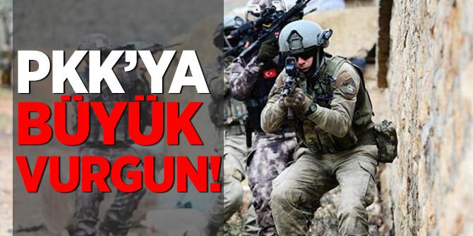 PKK'da büyük çöküş! Toplam 500 terörist...