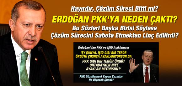 HAYIRDIR, ERDOĞAN PKK'YA NEDEN ÇAKTI?
