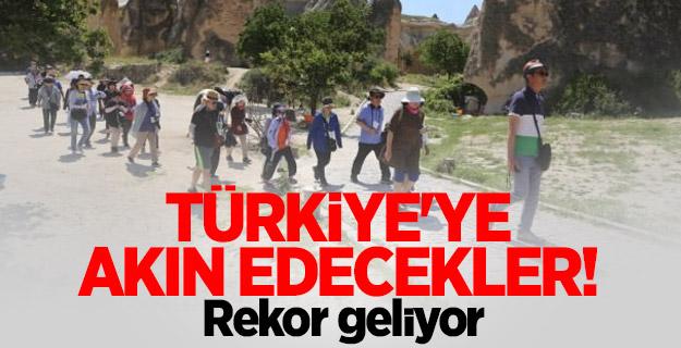 Türkiye'ye akın edecekler! Rekor geliyor