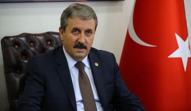 Destici'den Cumhurbaşkanı Erdoğan'a tebrik