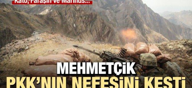 Mehmetçik teröristlere nefes aldırmıyor...