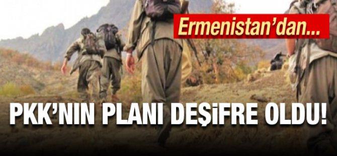 PKK'nın Ermenistan işbirliği ile terör koridoru
