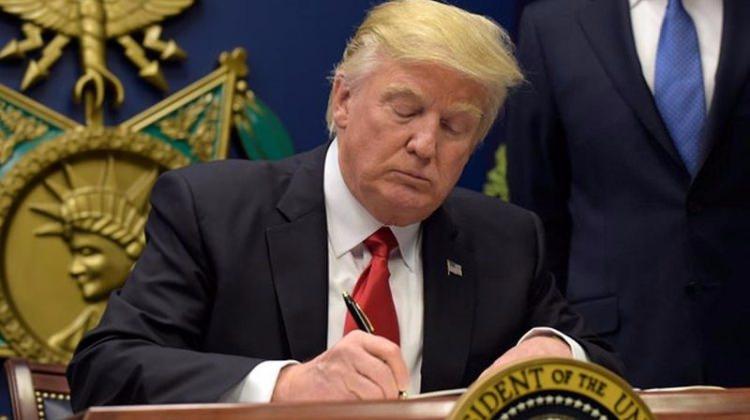 Trump imzayı attı... Kimsenin beklemediği karar
