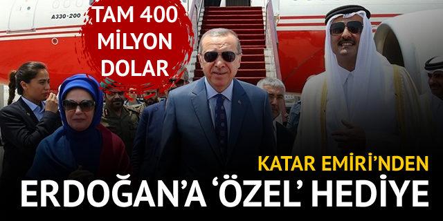 Katar Şeyhi'nden Cumhurbaşkanı Erdoğan'a özel hediye