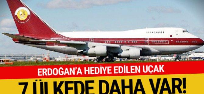Erdoğan'a hediye uçaktan 7 ülkenin filosunda var! İşte özellikleri...