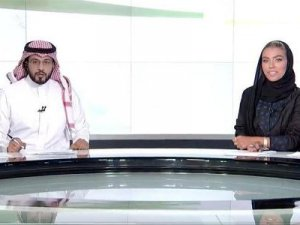 Suudi Arabistan'da bir ilk: Ana haberi kadın spiker sundu