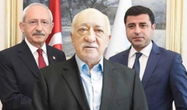 CHP-HDP ittifakına FETÖ desteği!
