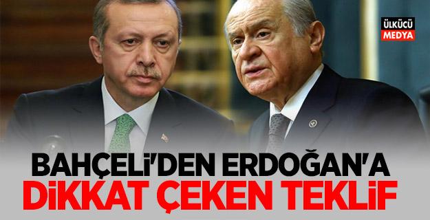 MHP Lideri Devlet Bahçeli'den Erdoğan'a dikkat çeken teklif