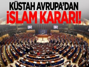 Avrupa'nın Skandal İslam dini kararı!