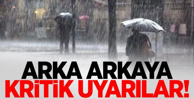 Meteoroloji'den İstanbul ve Ankara için uyarı!
