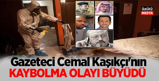 Gazeteci Cemal Kaşıkçı'nın Kaybolma Olayı Büyüdü!