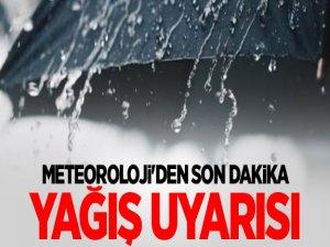 Meteorolojiden Uyarı: Sağanak Yağış Var, Dikkatli Olun