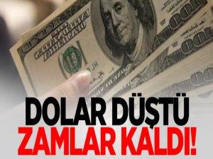 Dolar Düştü. Zamlar Kaldı Yadigar!