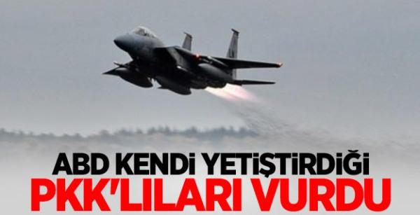 ABD Yetiştirdiği ve Desteklediği PKK'lıları Vurdu