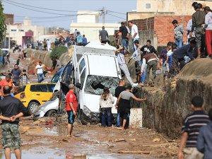 Tunus'ta Sel Felaketi 5 Can Aldı