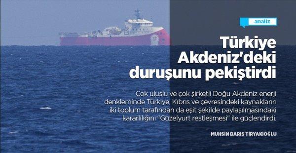 Türkiye 'Güzelyurt Restleşmesi' İle Akdeniz'deki Duruşunu Pekiştirdi