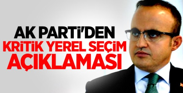 AK Parti'den Kritik Seçim Açıklaması