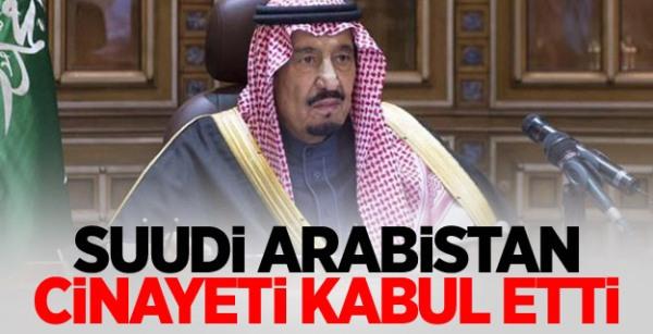Suudi Arabistan, Kaşıkçı'nın Ölümünü İtiraf Etti