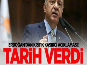 Erdoğan Tarih verdi; kritik Kaşıkçı açıklaması!