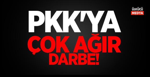 Bakanlık açıkladı: PKK'ya ağır darbe!