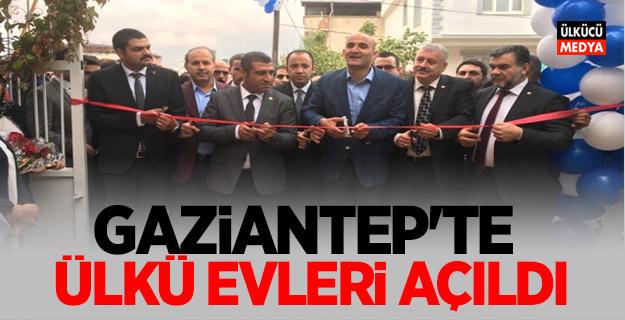 Alparslan Türkeş Gaziantep Ülkü Evleri Açıldı