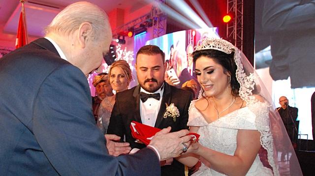 MHP Genel Başkanı Devlet Bahçeli, Nikah Şahidi Oldu