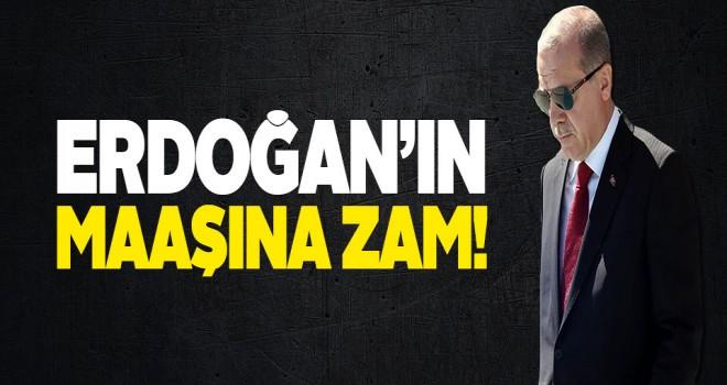 Erdoğan'ın maaşına yüzde 26 zam!