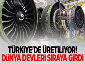 Artık Türkiye'de üretiliyor! Dünya devleri sıraya girdi