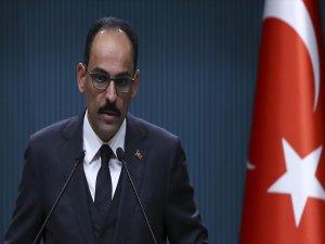 Cumhurbaşkanı Sözcüsü İbrahim Kalın: İhtiyatla Karşılıyoruz